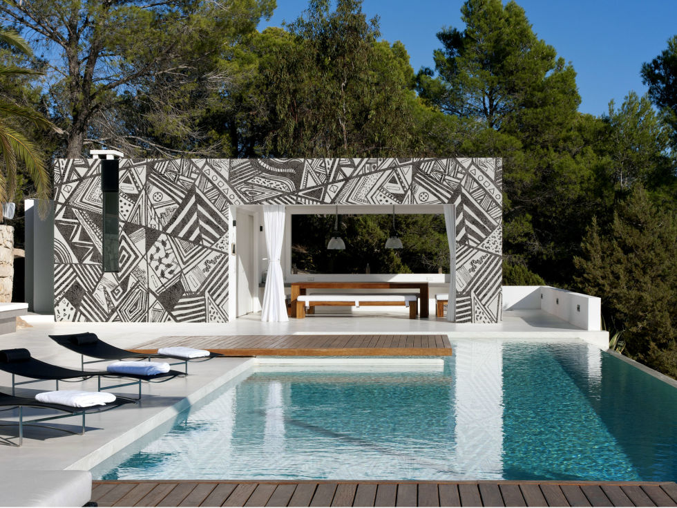 Outdoor Wallpaper By Wall Deco