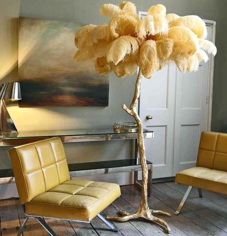 Feather Floor Lamps Are Fabulous And Matthew Williamson