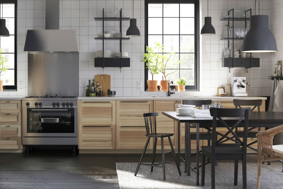 ikea new kitchen wall shelving system and too much whatsapp plus deco interior design blog. Black Bedroom Furniture Sets. Home Design Ideas